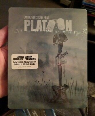 Platoon - Limited Edition Steelbook (Blu-ray) BRAND NEW!! Shout Factory