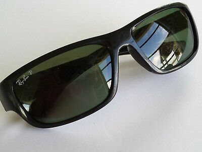 e808d75a21 Authentic Ray-Ban Polarized RB4196 601 9A 61017 3P Sunglasses As-is Seen