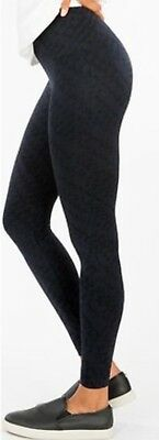 f86e62f74 SPANX Women s L Large Look At Me Seamless Camo Shaping Leggings  48 NAVY  TREAD
