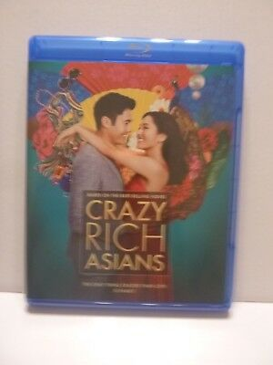 Crazy Rich Asians Blu-Ray Only No DVD/Digital Included