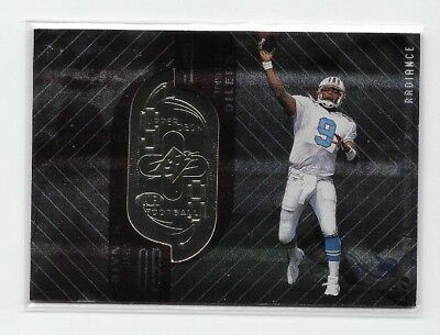 1998 UD SPX Finite STEVE MCNAIR RADIANCE PARALLEL #85 SP /3800 TITANS OILERS