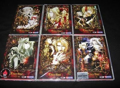 Trinity Blood Complete Collection Vol. 1,2,3,4,5,6 - EUC Anime DVD Set Ship Fast