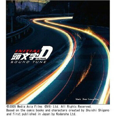 INITIAL D ANIME Mamga song Soundtrack CD AE86 JAPAN 8 D