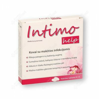 INTIMO HELP vaginal x 14 tablets / Intimohelp