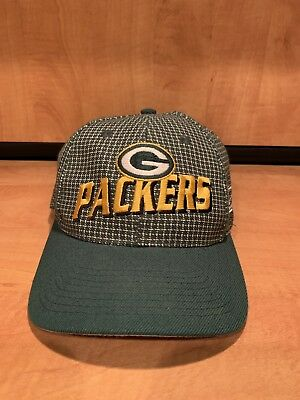 VINTAGE! GREEN BAY PACKERS NFL Pro Line Adjustable Hat CAP By Logo Athletics 209a039cf