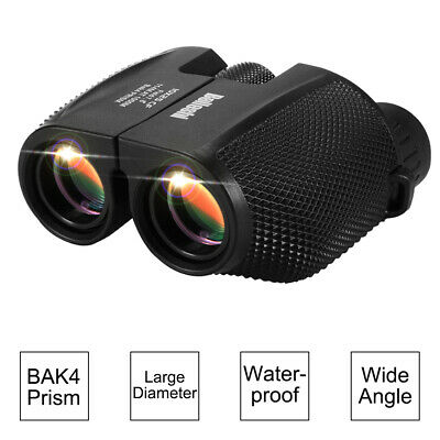 10x25 Compact Binoculars Foldable Telescope Wide Angle for Hiking Concert OS1005