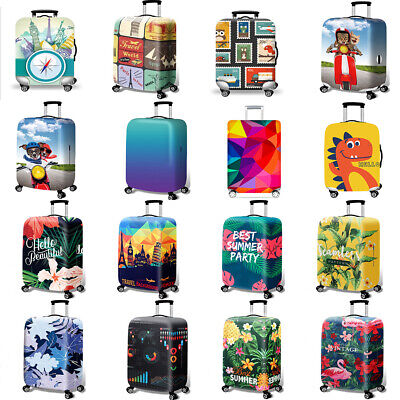 "18""-32"" Elastic Travel Luggage Cover Anti-Scratch Suitcase Protective Case Cover"