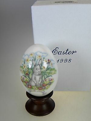 Noritake Easter Egg 1998 Limited Edition Bone China Made in Japan