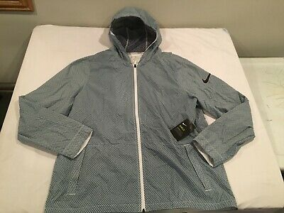 a9aea92298d1 NWT  125.00 Nike Mens Hyper Elite Shield Basketball Jacket Blue Sz XL
