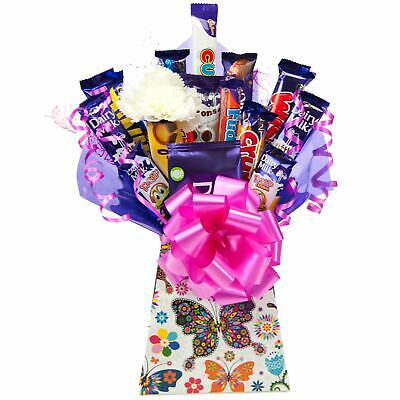 Mothers Day Cadbury Chocolate Bouquet Butterfly Design Hamper - Perfect Gift