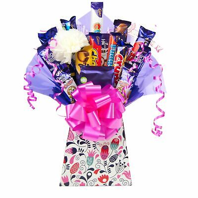 Mothers Day Cadbury Chocolate Bouquet Flowers Design Hamper Perfect Gift
