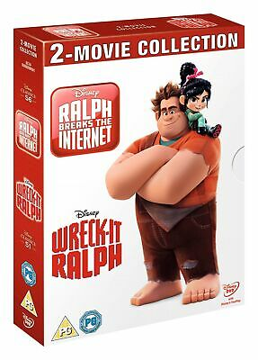 Wreck-it Ralph/Ralph Breaks the Internet [DVD]