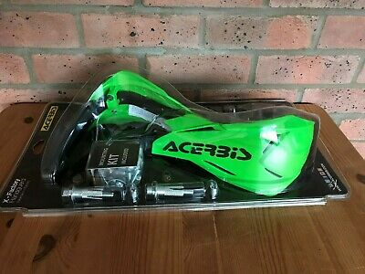 Acerbis X - Factory Universal Bike Hand Guards & Fitting Kit Kxf Green/black