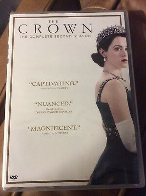 The Crown: Complete Second Season 2 (DVD, 2018, 4-Disc Set) LIKE NEW