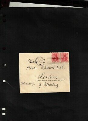 1920 Cover sent from Berlin SW to Sweden