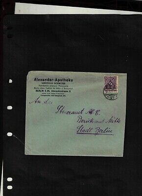 1923 Cover sent from Berlin