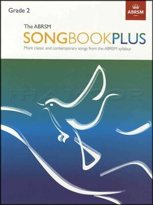 The ABRSM Songbook Plus Grade 2 Vocal Sheet Music Book Classic SAME DAY DISPATCH