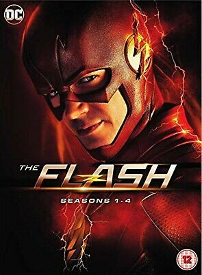 The Flash Season 1-4 Complete 22 DVD Special Edition New Sealed UK Region 2 DVD