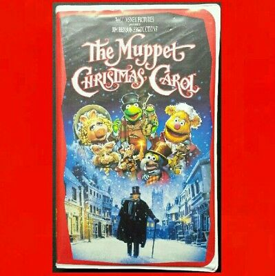 Muppet Christmas Carol Vhs.The Muppets Christmas Carol Michael Caine Kermit The Frog Miss Piggy Vhs