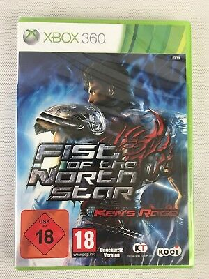 Xbox 360 Fist of the North Star Ken's Rage, German Version, New & Factory Sealed