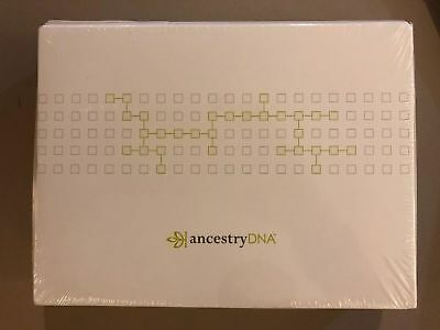 AncestryDNA Genetic Testing - DNA Ancestry Test Kit NEW and SEALED in plastic!!