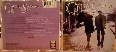 CD - QUIET STORM:  THE 70's - VARIOUS ARTISTS - 1995