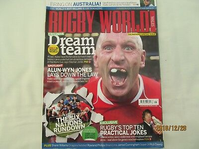 Rugby World Magazine. (Welsh Edition) May 2007.