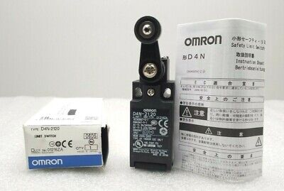 New Omron D4N-2120 Limit Switch