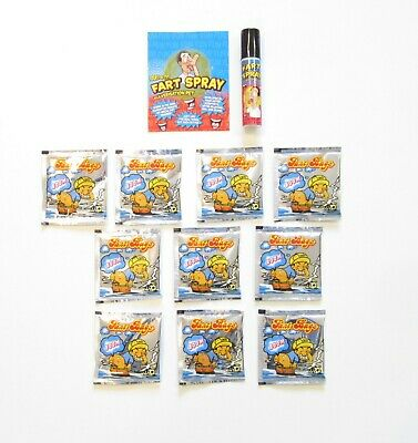 1 Can Of Fart Spray & 10 Fart Bomb Bags   Smelly Stink Bomb Bag Gag Gift Prank