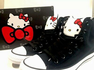 96d4b4b5298 Converse Hello Kitty Chuck Taylor All Star 163910c Womens 7.5 New In Box  Shoes
