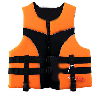 E53 Fishing Water Sports Kayak Canoe Boat Surf Ski Sailing Life Jacket Vest O