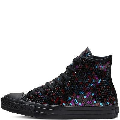 RRP £60 CONVERSE Chuck Taylor All Star Holiday Scene Sequin