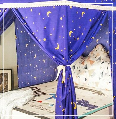 King Cartoon Floor Type Dust Prevention Bed Canopy Mosquito Net Bed Curtain