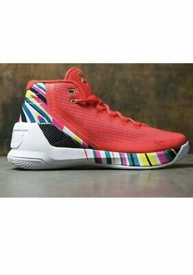 4d3ae3840a49 2017 Under Armour UA Steph Curry 3 SZ 11 Chinese New Year CNY 1269279-984
