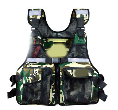 E26 Fishing Water Sports Kayak Canoe Boat Surf Ski Sailing Life Jacket Vest O