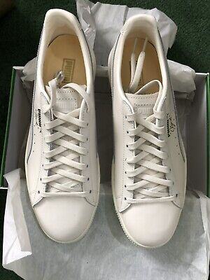 d3cbb5ade96 Puma Clyde Natural Star White Mens Size Sneakers 363617-02 Brand New Ds Men