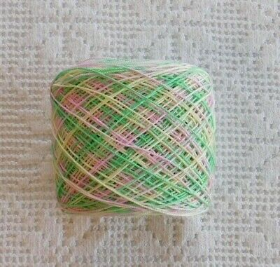 Aunt Lydia's 100 % Cotton Crochet Thread #10 Hand Dyed (March Lily ) 300yds