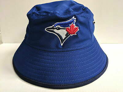 43b8e1f2681 TORONTO BLUE JAYS New Era Cap Blue Hex Team Bucket Hat String MLB ...