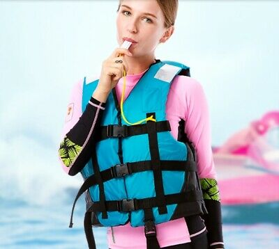 E04 Fishing Water Sports Kayak Canoe Boat Surf Ski Sailing Life Jacket Vest O