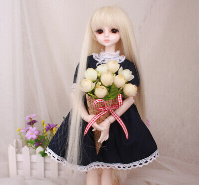 E09 1/4 Girl Super Dollfie Normal Skin Coordinate Model Fullset BJD Doll O
