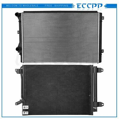 Automotive Cooling A//C AC Condenser For Volkswagen Jetta Beetle 3889 100/% Tested