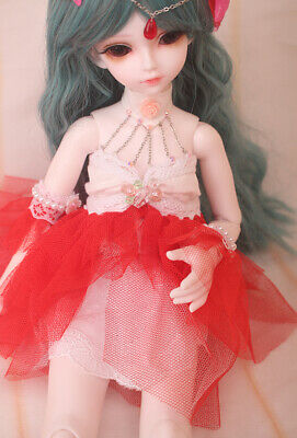 E02 1/4 Girl Super Dollfie Normal Skin Coordinate Model Fullset BJD Doll O