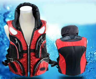 E35 Fishing Water Sports Kayak Canoe Boat Surf Ski Sailing Life Jacket Vest O
