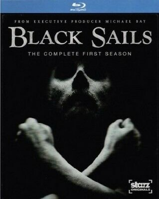 Black Sails: The Complete First Season (Blu-ray Disc, Slipcover, 2015, Canadian)