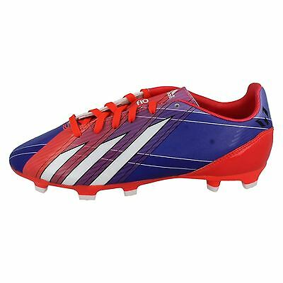 sports shoes 8d1b0 25e1e Addidas Messi Garçon Lacet Chaussures de Football Messi F10 TRX Fg J