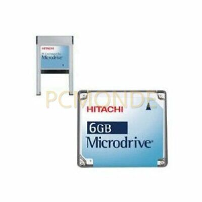 Pexagon Hitachi 6 GB Microdrive With PCMCIA Type II Card Adapter
