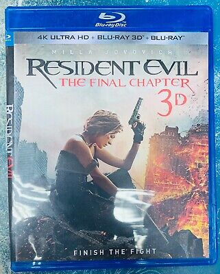 Resident Evil the Final Chapter 3D Blu-ray Region Free Buy Now Best Deal
