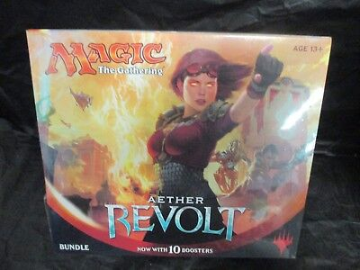 MTG Magic the Gathering - Factory Sealed - Aether Revolt Bundle (10 Boosters)