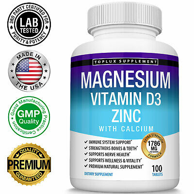 Premium Magnesium Glycinate 400 MG Complex - High Absorption Mag Supplement Mag