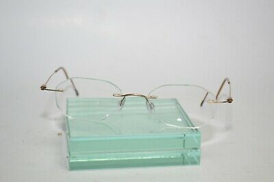 7fb0def8ac SILHOUETTE RIMLESS EYEGLASS Frame to Lens Sleeve Double shaft 2 ...